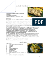 10 recetas guatemaltecas