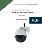 ApexisCam Quick Installation Guide APM J901 Z WS V1.2