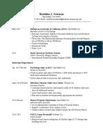 resume feb 2017 pdf