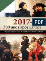 2017 - 500 Anos Após Lutero