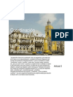Coordinacion Intergubernamental