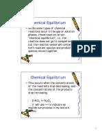 Chap14 Lec Chemical Equilibrium