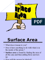 surface area  2 1