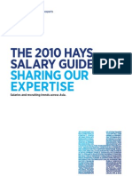 2010 Hays Salary Guide in Asia