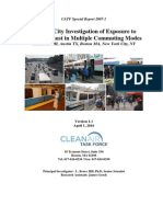 A Multi-City Investigation of Exposure to Diesel Exhaust in Multiple Commuting Modes