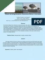 Diseño de Aerogeneradores Final