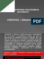 Statistica Valoare Modul