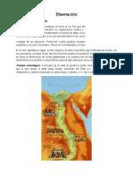 Disertación La Civilizacion Egipcia