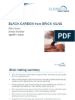 Black Carbon from Brick Kilns