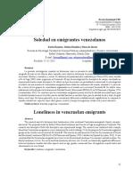 Artículo Científico Soledad en Emigrantes