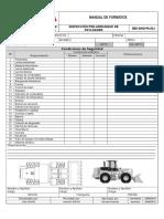 Sbv Siho Pa 014. Inspeccion Pre Arranque de Payloader