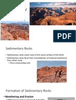 sedimentary rocks ppt