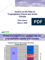 Introduction to the Role of Tropospheric Ozone and Arctic Climate