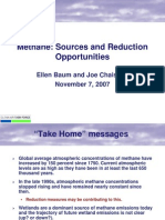 Methane Sources and Reduction Opportunities