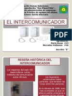 El Intercomunicador Diapositivas