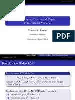 PDP-bentuk Kanonik Hiperbolik