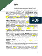 Contrato de Obra- LOS TALLANES -V2016-RvVM