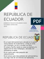 Diapositivas Ecuador