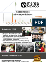 Reporte AG2017 Subcomité Niños SD