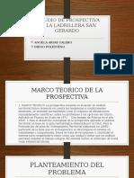 Estudio de Prospectiva de La Ladrillera San Gerardo