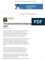 Top Programming Languages to Look Out for in 2017 - The Catalysts by Sachin Gupta _ ETtech