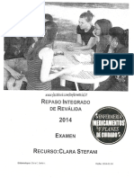 Repaso Integrado de Revalida Clara Stefani  2014