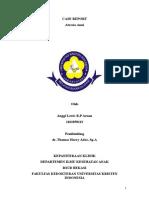 Anggi Lewis Rp Aruan - 1161050113 Case Report - Atresia Anni