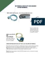 Cómo Conectarse a Cisco AP 1200 Usando Hyperterminal