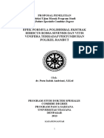 Proposal Penelitian Cover