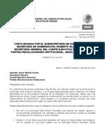 Bol Carta Sub Secret a Rio Gil 020710
