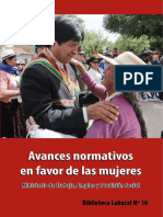 Biblioteca Laboral No. 10 - Avances normativos en favor de las mujeres.pdf