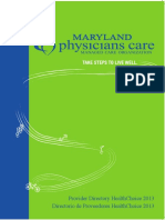 2013 Provider Directory