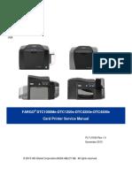 DTC1250e 4250e 4500e Card Printer Service Manual PLT 01543 Rev 1.0