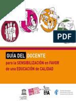 Unesco. Guía Del Docente Sens. Calidad.