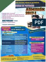 Afiche Admision 2017-1