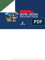 Plan Nacional de Seguridad Hidrica de La Republica de Panama