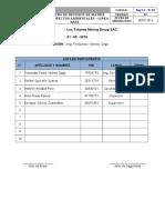 Reg 12 - Pr 02 Registro de Revisión Matriz IPERC Linea Base - MASST