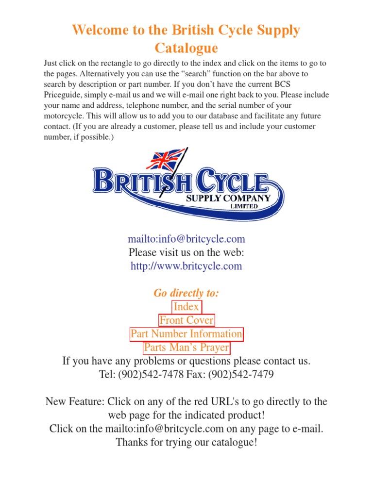 2014 PDF Cat | Motorcycling | Motorcycle