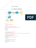 Configurando Un Switch Multilayer