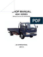4DA1 Series Trucks Workshop Manual