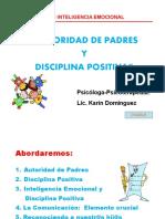 Autoridad Padres Disciplina Positiva