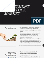 Investment/Stock Market