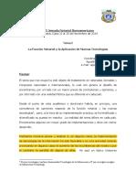 Funcion Notarial y Aplicacion de Nuevas Tecnologias