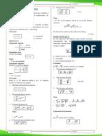 1.- ALGEBRA (Teoria de Exponentes) 1º 2ºa