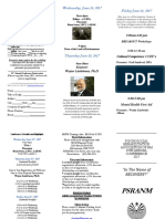 2017 PSRANM Conference Registration