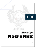 Black Ops MacroFlex - Nutritional Guide