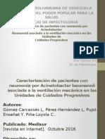 Caracterización de Pacientes Con Neumonía Por Acinetobacter