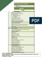 Detailed Agenda FFNF