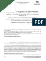 Invertebrados Asociados Brácteas de Heliconia Rostrata y