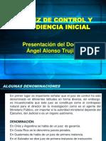 El Juez de Control-Audiencia Inicial
